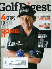 2014 Golf Digest: Phil Mickelson Bomb It/World's Greatest Golf Games/Short Game