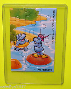 PUZZLE ## HAPPY HIPPOS 1988 ### ECKE UNTEN RECHTS 100% ORIGINAL - TOPZUSTAND!!!