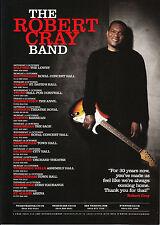 Robert Cray Band 'UK TOUR 2015' A5 Flyer New