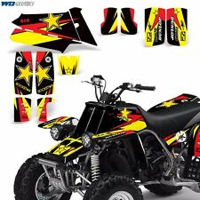 Decal Graphic Kit Yamaha Banshee 350 ATV Quad Decal Wrap Parts Deco 1987-2005 RS