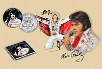 Elvis Presley - On Tour The Movies Collection JFK Colorized Half Dollar Coin