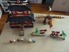 LEGO Ninjago Fire Temple Set 2507 100% Complete EXCELLENT CONDITION