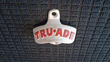 Vintage NOS TRU-ADE STARR X Stationary Wall Mount Bottle Opener Cast Iron