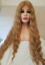 Human Hair Wig, Auburn, Red, Ginger, Lace Front Wig, Golden Blonde