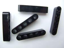 5 x Lego Black Technic 5M beam - 4142135 (Parts & Pieces)