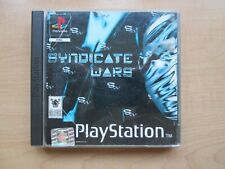Playstation 1 - Syndicate Wars - Manual INCLUDED