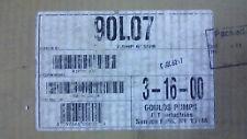 """Goulds Pumps ITT 7.5/HP Wet End 6"""" Submersible Model 90L07 S02281917"""
