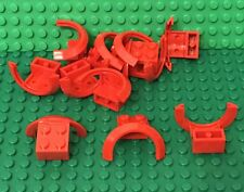 Lego X12 Red Vehicle / Truck Car Mudguard 4 x 2 1/2 x 1 2/3 with Arch Round Part