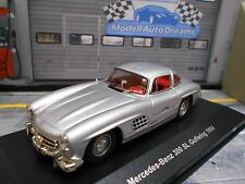 MERCEDES Benz 300sl 300 sl Gullwing argent w154 1954 aile s-prix solido 1:43