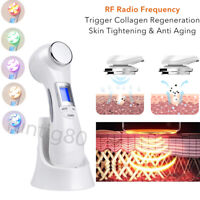 6 In 1 RF EMS LED Photon Therapy Rejuvenation Face Skin Care Spa Beauty Machine