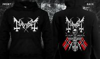 MAYHEM-Black metal-Darkthrone-Immortal-Bathory, Hoodie-sizes:S to XXL
