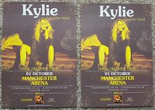 2 Flyers - Kylie Minogue - Golden Tour  - 1st October 2018 - Manchester Arena