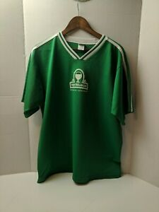 Men's New Belgium Brewing Company Green Jersey XL Made in US