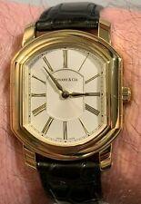 Tiffany & Co. Mark Coupe Men's 18k Gold - Original Quartz Movement