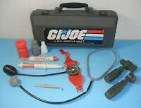 Lot 1980s GI Joe Nasta Kids Paramedic Dr Play Set Medical Kit Case *99% Complete
