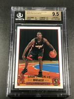 DWYANE WADE 2003 TOPPS COLLECTION #225 VARIATION PHOTO ROOKIE RC BGS 9.5 RARE