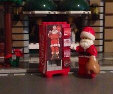 LEGO Custom Coca Cola Soda Christmas Santa Vending Machine Made From Lego Bricks