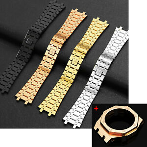 For GA2100  GA2110SU Metal Watch Case Bezel & Strap Band Mod Gen3 Conversion Kit