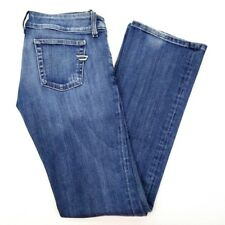DIESEL Womens Size 29 Bootcut Low Rise Distressed Blue Jeans 28 x 31 Medium Wash
