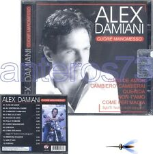 "ALEX DAMIANI ""CUORE MANOMESSO"" RARO CD - SIGLA TV"