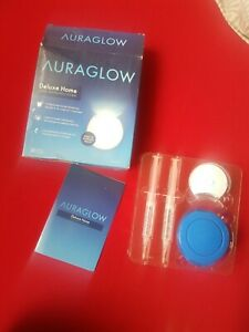 AuraGlow Teeth Whitening System LED Accelerator Light, Speed whitening Result