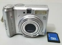 Canon PowerShot A570 IS 7.1 Megapixel 4X Optical Zoom Camera *Fine/tested*
