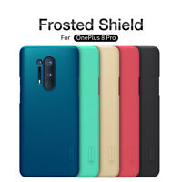 For OnePlus 8 Pro Nillkin Super Frosted Shield Ultra Slim Dust-proof Hard Cover