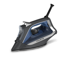 Rowenta Digital Display Steam Iron Stainless Steel Soleplate Perform Auto Off