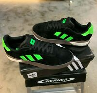 Adidas 3ST.004 Men's Skateboard Shoe  - Black / Green / Gum