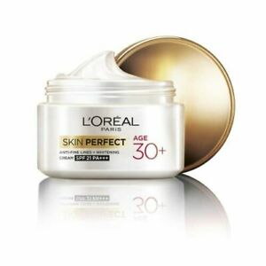 L'Oreal Paris Skin Perfect 30+ Anti-Fine Lines + whitening Cream, 50g