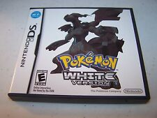 Pokemon White Version (Nintendo DS) Lite DSi XL 3DS 2DS w/Case & Manual
