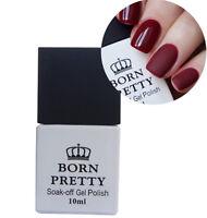 10ml Nail Soak Off No-Wipe Matte Top Coat Gel Polish Nail Art UV Gel BORN PRETTY