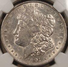 1901 Morgan Dollar NGC AU-50