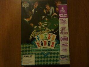 Aussie Joker Poker by Joker Software for Atari ST New +Sealed + ships Free