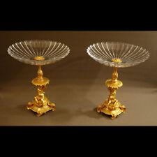 PAIRE DE GRANDS CENTRES DE TABLE XIXème - PAIR OF GRANDS CENTERPIECE XIXth