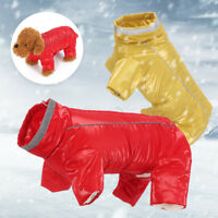 Thickened Clothes Boy/Girl Jumpsuit Puppy Wadded Jacket Dog Vest Pet Warm Coat