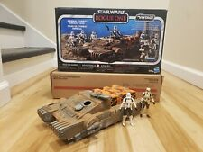 New listing Star Wars The Vintage Collection Rogue One Imperial Assault Tank Driver & Tank