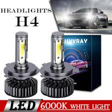 H4/9003 LED globes Hi/Lo Beam Headlight Car Conversion 6000K Light Xenon White