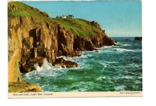 Cornwall - Lands End, Hotel and Cliffs - Picture Postcard