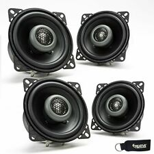 MB Quart Two Pairs Of Formula 4 Inch 2 way Coaxial Car Speakers FKB110