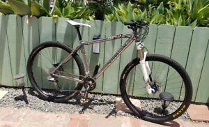 Motobecane Titanium Sram XX 29er Hardtail Cross Country Mountain Bike Fly Team
