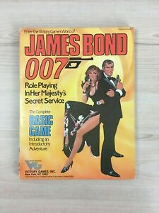 James Bond 007 Role Playing Game - In her Majesty's Secret Service - Basic Game