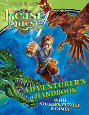 NEW  BEAST QUEST ADVENTURERS HANDBOOK with STICKERS PUZZLES GAMES