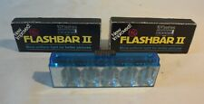 C56 3 anciens vintage Flashbar 2  20 flashes!!!