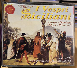 Verdi I Vespri Siciliani (Lyrica/RCA Red Seal, 1973/95).. [3 CD]