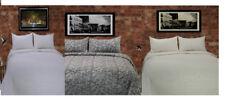 Trapunte e copriletti bianchi in misto cotone
