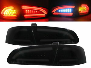 IBIZA 6L 2002-2008 LED BAR Feux Arrieres V2 SMOKE for SEAT LHD