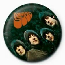 BEATLES rubber soul - BUTTON BADGE official merchandise - lennon & mccartney