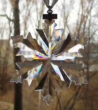 Swarovski Crystal 2014 Annual Snowflake Christmas Ornament New in Box