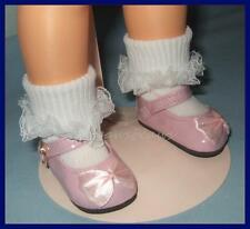 """PINK Patent 2.5 x 1.125  Inches Mary Jane Doll Shoes fit 16"""" SHIRLEY TEMPLE"""